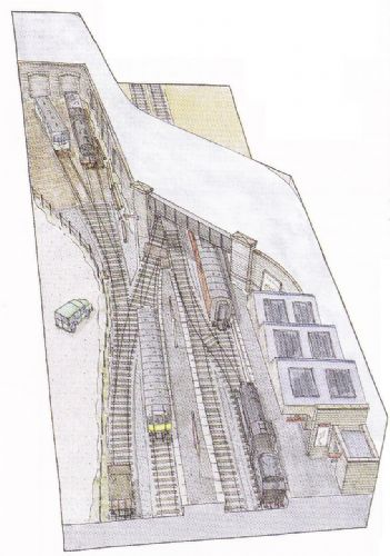 Peco Setrack OO Plan 32 - Sheringham Yard - An Interpretation Of A Preserved Station